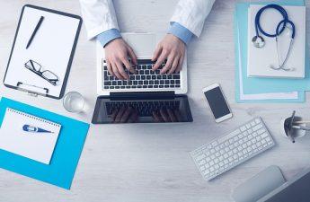 biurko lekarza