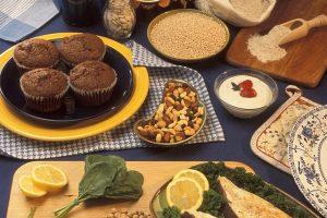 Zdrowe jedzenie pełne magnezu