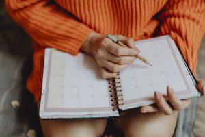 Notowanie w kalendarzu